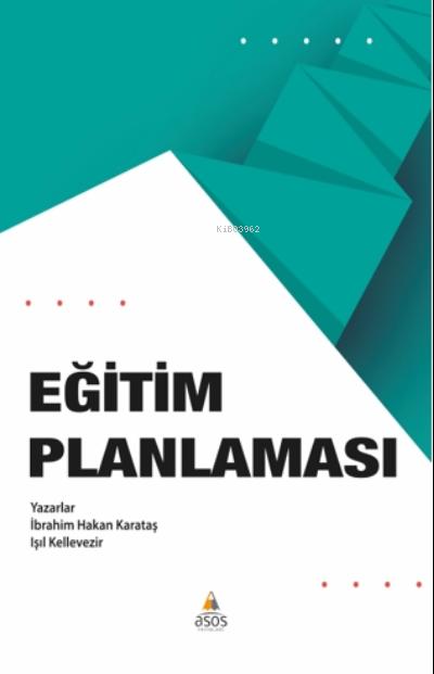 Eğitim Planlanması Kuram ve Uygulama