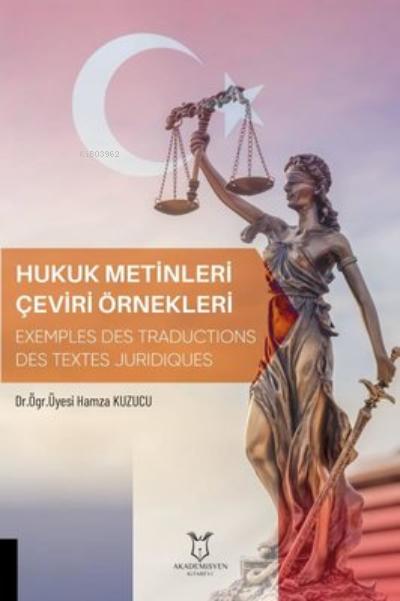 Hukuk Metinleri Çeviri Örnekleri