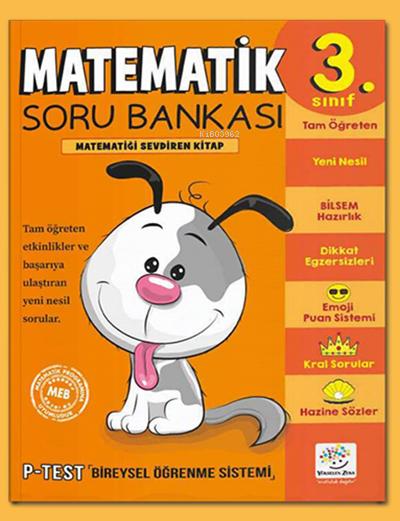 3. Sınıf Matematik Soru Bankası Matematiği Sevdiren Kitap