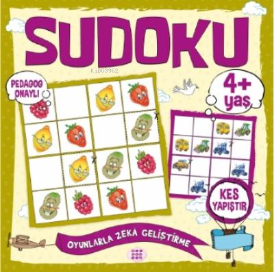 Çocuklar İçin Sudoku - Kes Yapıştır (4+ Yaş)