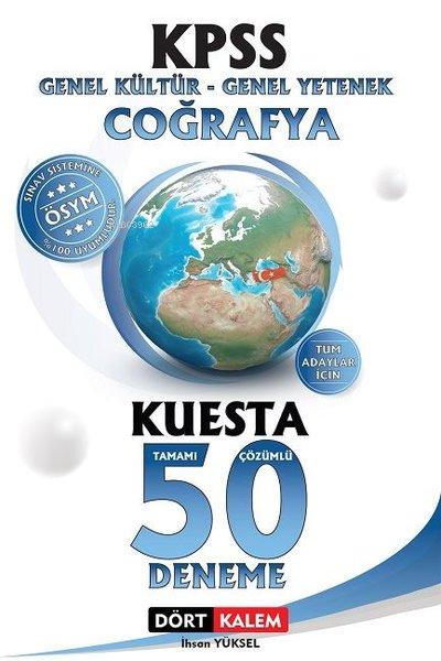 KPSS Genel Kültür - Genel Yetenek Coğrafya Kuesta Tamamı Çözümlü 50 Deneme