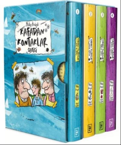 Kafadan Kontaklar Serisi Kutulu Set (4 Kitap Takım)