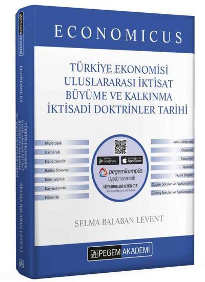 2022 KPSS A Grubu Economicus Türkiye Ekonomisi, Uluslararası İktisat, Büyüme ve Kalkınma, İktisadi Doktrinler Tarihi Konu Anlatımı