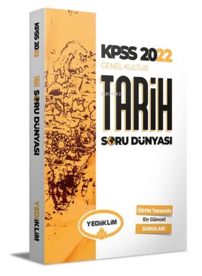 2022 KPSS Genel Kültür Tarih Soru Dünyası