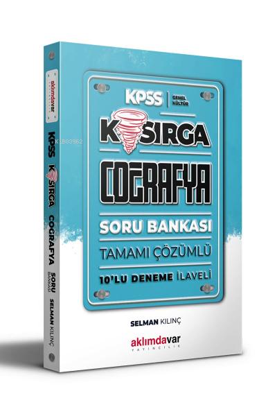 KPSS Genel Kültür Kasırga Coğrafya Tamamı Çözümlü Soru Bankası