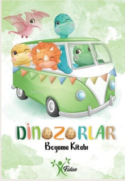 Dinozorlar - Boyama Kitabı