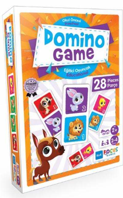 Blue Focus Domino - Game;28 Parça