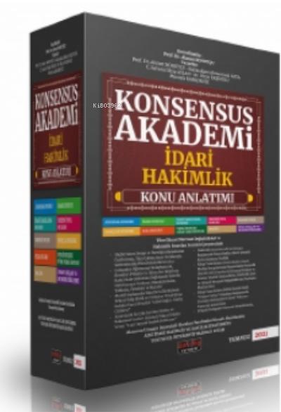 Konsensus Akademi İdari Hakimlik Konu Anlatımlı Set Savaş Yayınları 2021;İdari Hakimlik Sınavı Hazırlık