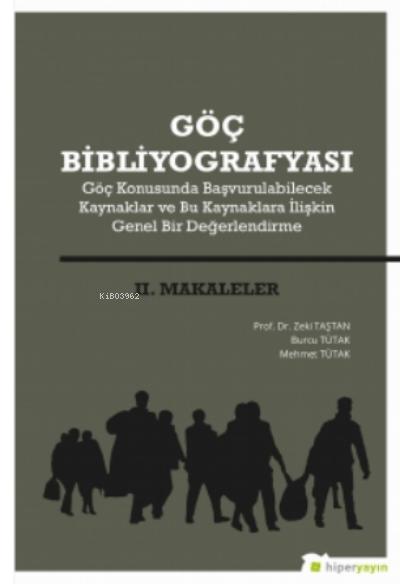 Göç Bibliyografyası II. Makaleler
