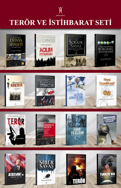 Terör ve İstihbarat 16 Kitap Set