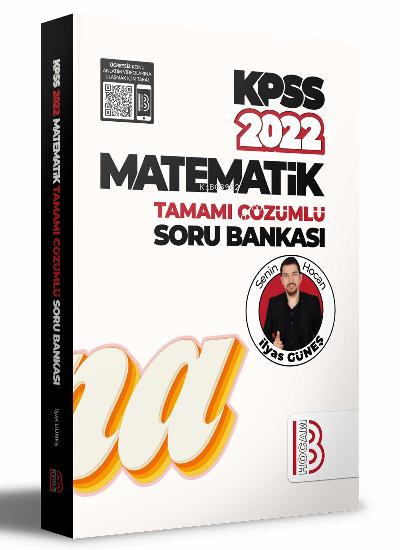 2022 KPSS Matematik Tamamı Çözümlü Soru Bankası