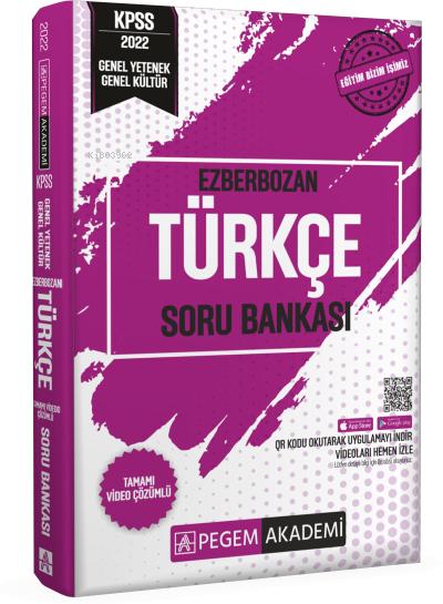 2022 Genel Yetenek Genel Kültür Ezberbozan Türkçe Soru Bankası