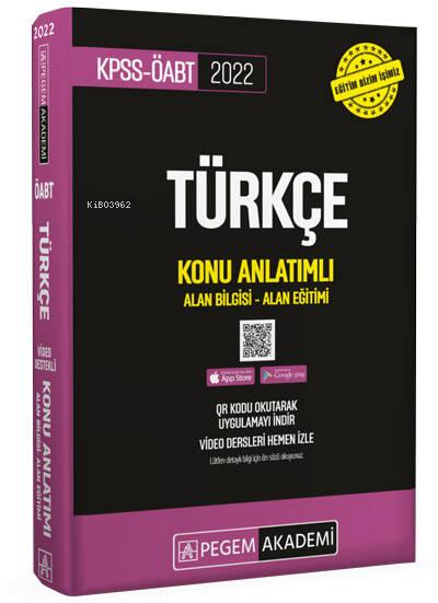 2022 KPSS ÖABT Türkçe Konu Anlatımlı