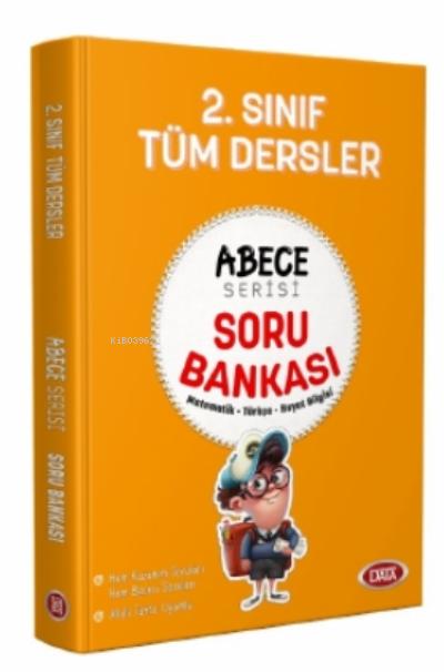 2. Sınıf Tüm Dersler Abece Serisi Soru Bankası;Matematik - Türkçe - Hayat Bilgisi