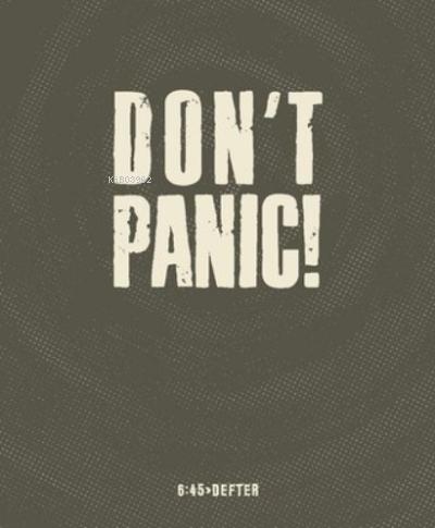 Don't Panic! Kare Defter