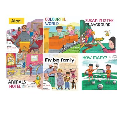 Our Story Book Set Called Atari And Susan (6 Kitap Takım)