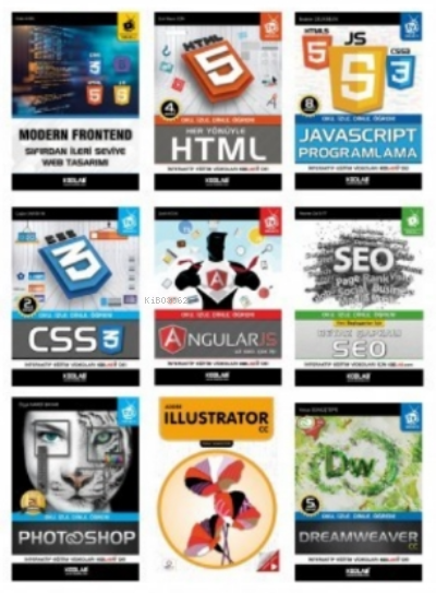 Süper Modern Web Tasarım Seti