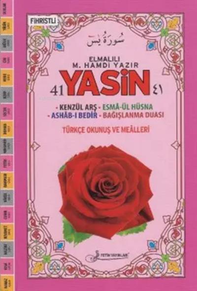 41 Yasin Fihristli ( Orta Boy )