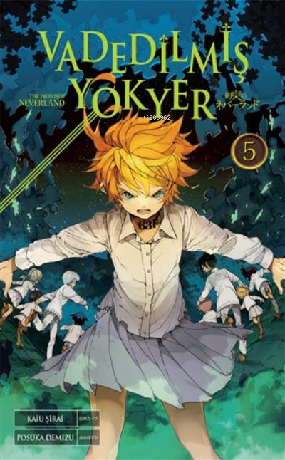Vadedilmiş Yokyer Cilt 5;Yakusoku No Neverland 5
