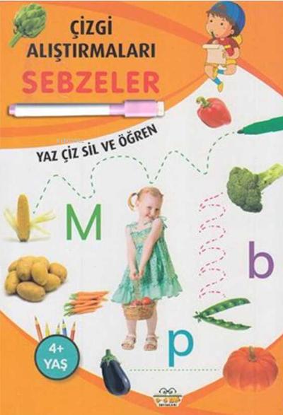 Sebzeler Yaz Çiz Siz ve Öğren