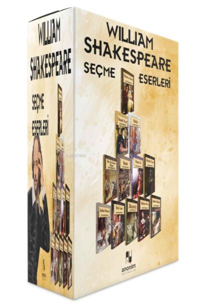 William Shakespeare 12 Kitap Set