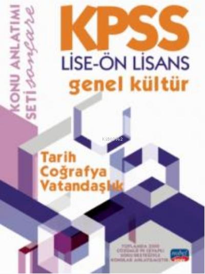 KPSS Lise - Ön Lisans Genel Kültür Konu Anlatımı - Tarih - Coğrafya - Vatanddaşlık