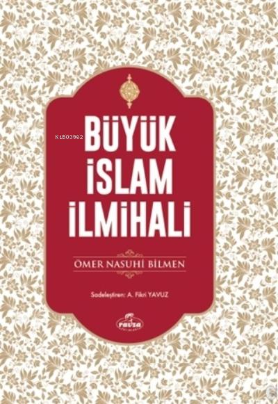 Büyük İslam İlmihali (Şamua Kağıt)