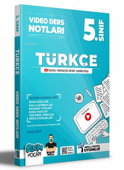 2022 5.Sınıf Türkçe Video Ders Notları (Konu Anlatımı)