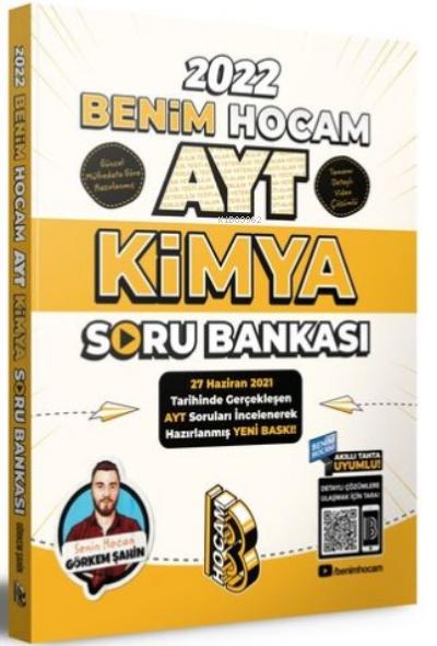 Benim Hocam Yayınları AYT Kimya Soru Bankası Benim Hocam