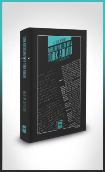 Türk Büyükleri veya Türk Adları