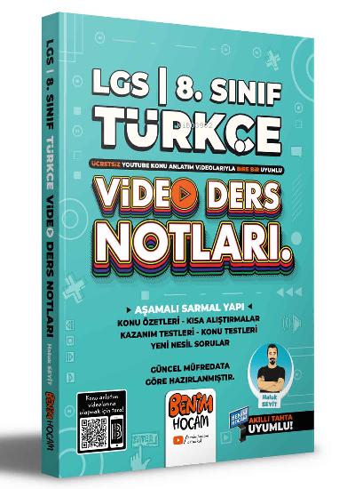 2022 LGS 8.Sınıf Türkçe Video Ders Notları (Konu Anlatımı)