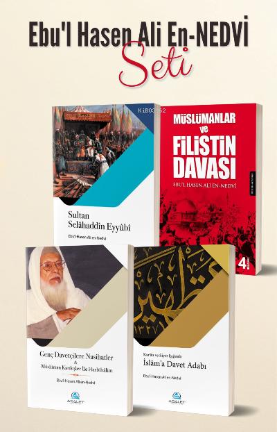 Ebul Hasen Ali en-Nedvî Seti (4 Kitap)