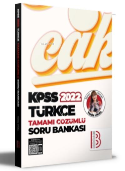 2022 KPSS Türkçe Tamamı Çözümlü Soru Bankası
