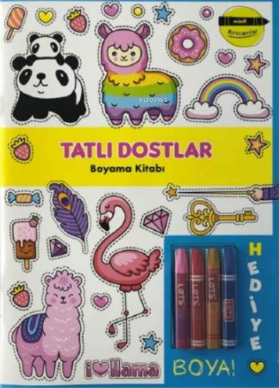 Tatlı Dostlar Boyama Kitabı - Minik Ressamlar