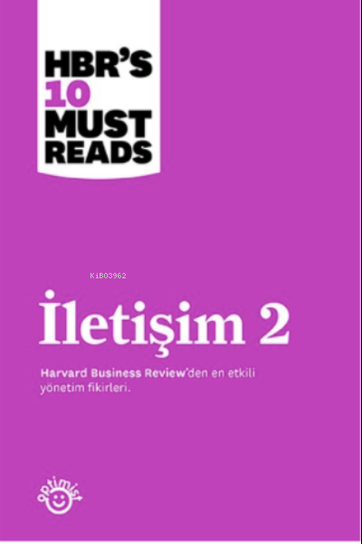 İletişim 2 ;Harvard Business Review Press