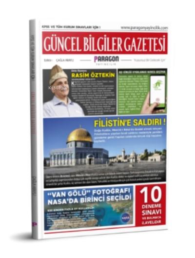 2021 Güncel Bilgiler Gazetesi Kpss Ve Tüm Kurum Sınavları İçin + 10 Deneme Ve Bulmacalı
