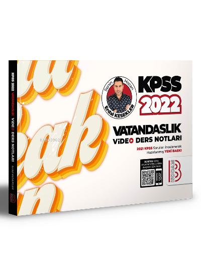 2022 KPSS Vatandaşlık Video Ders Notları