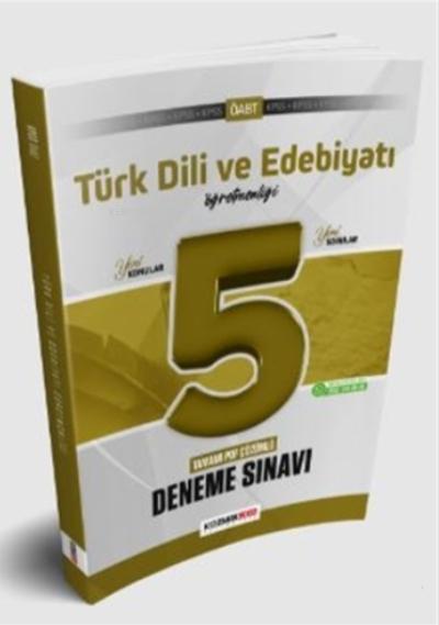 2021 ÖABT Türk Dili ve Edebiyatı Öğretmenliği 5'li Deneme Sınavı PDF Çözümlü