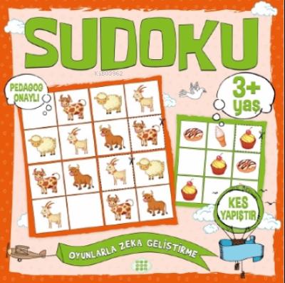 Çocuklar İçin Sudoku - Kes Yapıştır (3+ Yaş)