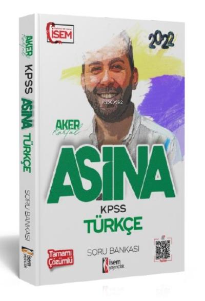 İsem 2022 KPSS Aşina Türkçe Çözümlü Soru Bankası