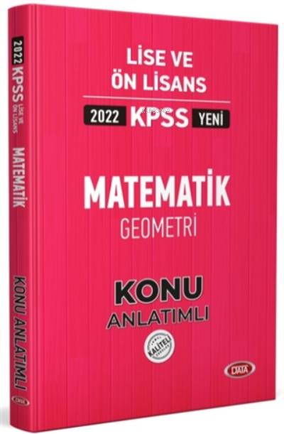 2022 KPSS Lise ve Ön Lisans Matematik Geometri Konu Anlatımlı