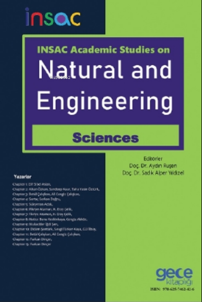 INSAC Academic Studies On Natural and Engineering Sciences