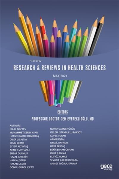 Sağlık Bilimlerinde Araştırma İncelemeleri, Mayıs