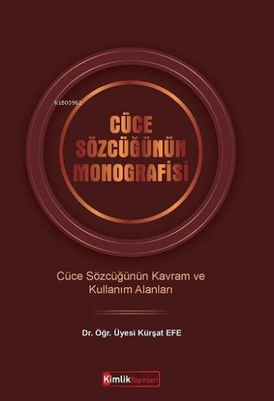 Cüce Sözlüğünün Monografisi