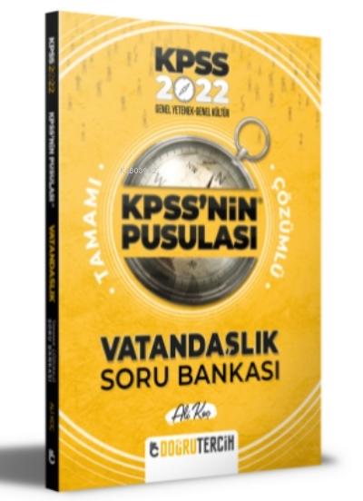 2022 KPSS'NİN Pusulası Vatandaşlık Soru Bankası
