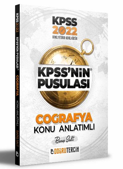 2022 KPSS'NİN Pusulası Coğrafya Konu Anlatımı
