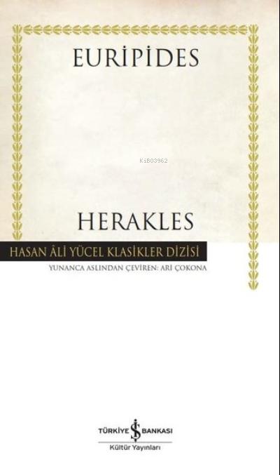 Herakles;Hasan Ali Yücel Klasikler Dizisi