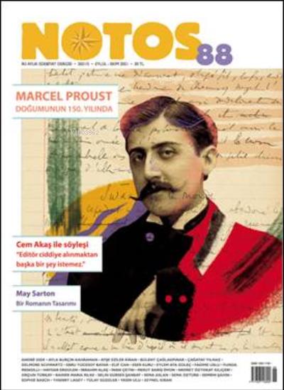 Notos 88 Marcel Proust Doğumunun 150. Yılında