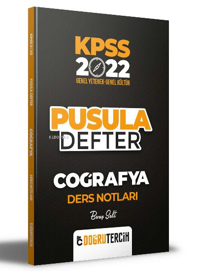 2022 KPSS Coğrafya Pusula Defter Ders Notları
