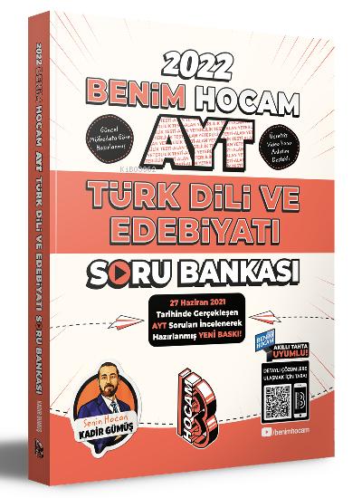 Benim Hocam Yayınları 2022 AYT Türk Dili ve Edebiyatı Soru Bankası